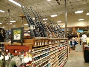 Sim, são rifles de verdade.