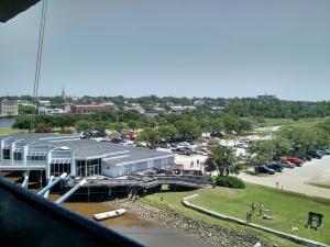 Entrada do Museu - Vista de dentro do Navio